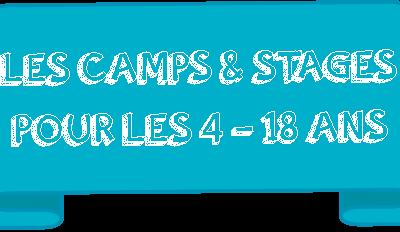 Les camps et stages de l'été