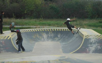 Skate Park « Sur une nouvelle roue »