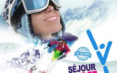 Séjours ski pour les jeunes de 13 à 18 ans.