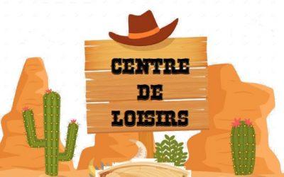 Planning de l'été du Centre de Loisirs