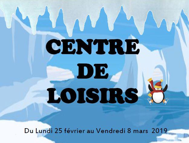 Centre de loisirs : programme des vacances polaires !
