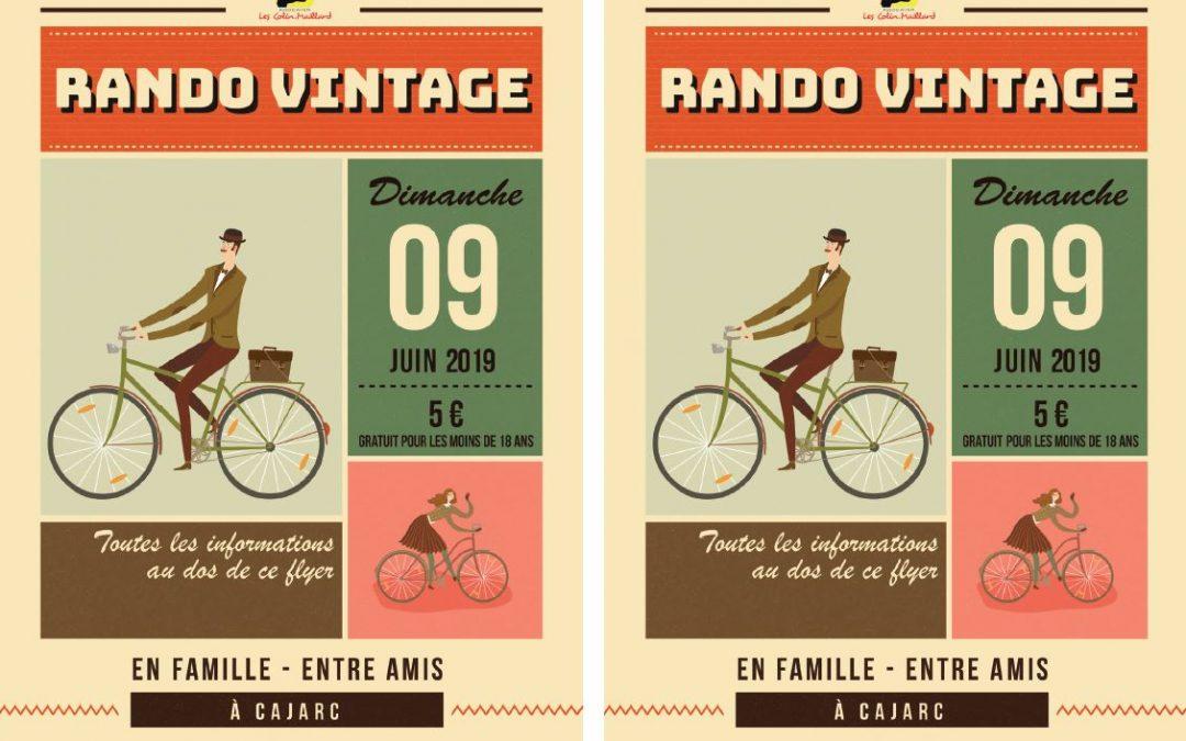 9 Juin Rando Vélo Vintage