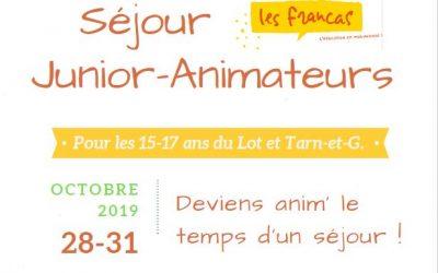 VACANCES D'AUTOMNE 2019 (15-17 ans)