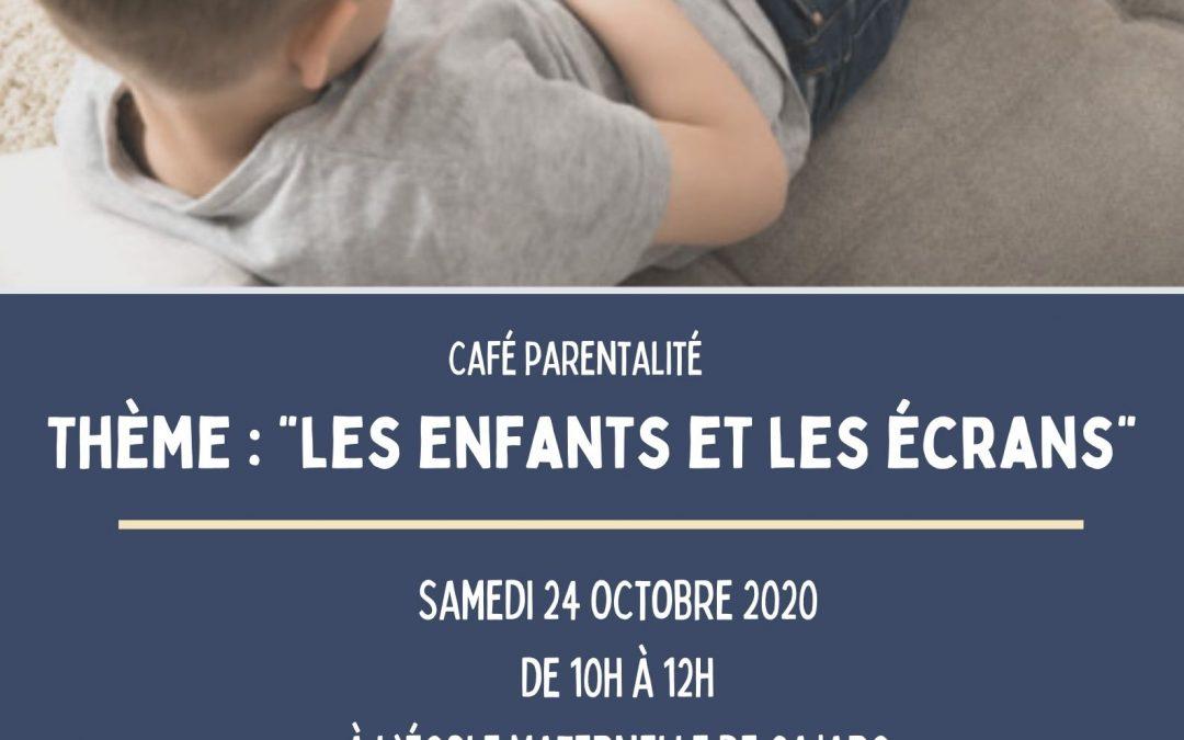 Café parentalité – Les enfants et les écrans